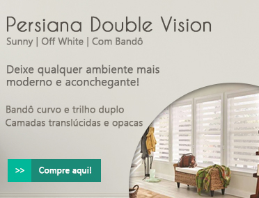 Persiana Double Vision Off White
